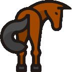 Cinder horse mascot